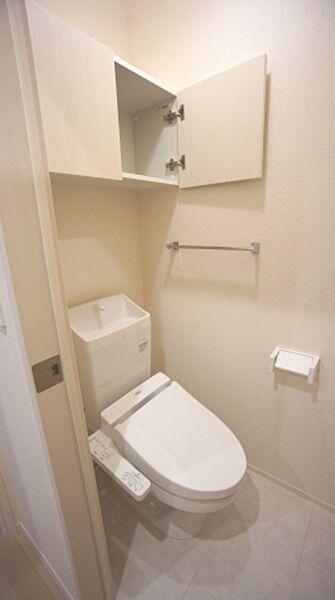 メゾンエトワール雲雀町のトイレ