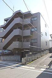 愛知県岡崎市六名東町の賃貸マンションの外観