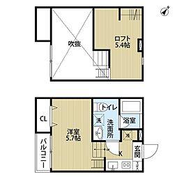 solana(ソラナ)[2階]の間取り