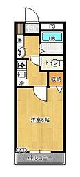 フルスインゼル[2階]の間取り