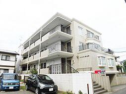 神奈川県海老名市東柏ケ谷3丁目の賃貸マンションの外観
