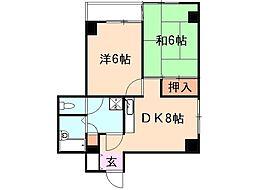 大貫ビル[4階]の間取り