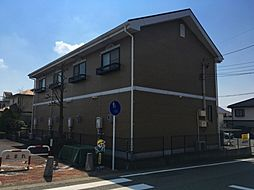 愛知県みよし市三好丘7丁目の賃貸アパートの外観