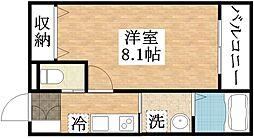 フローリッシュ正覚寺[3階]の間取り