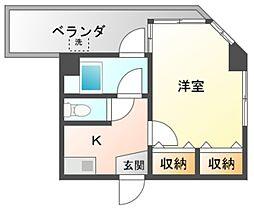 三谷ビル[3階]の間取り