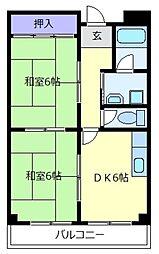 アートアイマンション[3階]の間取り