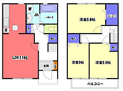 [テラスハウス] 東京都八王子市高倉町 の賃貸【/】の間取り