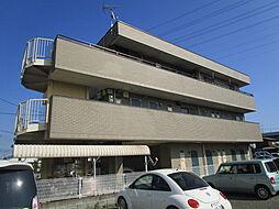 神奈川県厚木市戸田の賃貸マンションの外観