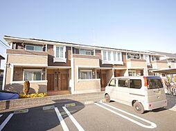 神奈川県相模原市中央区田名の賃貸アパートの外観