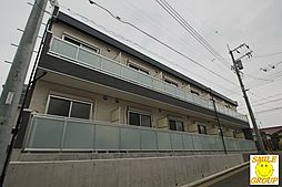千葉県船橋市上山町2の賃貸アパートの外観
