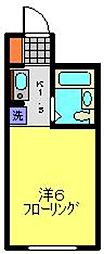 YOKOHAMA BAY HILLS[302号室]の間取り