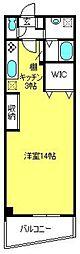 フェスティビティ大宮浅間町[1階]の間取り