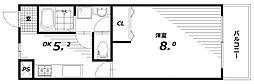 フルール稲葉[1階]の間取り