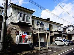 栃木県小山市大字喜沢の賃貸アパートの外観