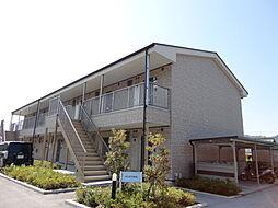 滋賀県彦根市鳥居本町の賃貸アパートの外観
