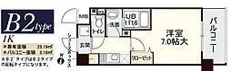 新大阪南グランドマンション[508号室]の間取り