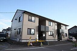 新潟県新発田市中曽根町2丁目の賃貸アパートの外観