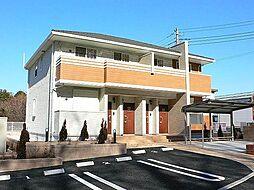 神奈川県川崎市多摩区長沢3丁目の賃貸アパートの外観