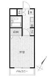 メゾン鶴ヶ島[1階]の間取り