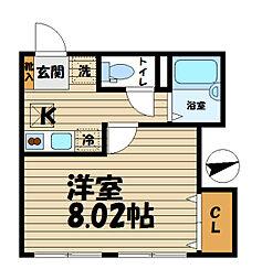 Kamakura ST[1階]の間取り