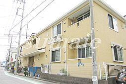 東京都葛飾区奥戸3丁目の賃貸アパートの外観
