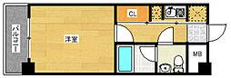 エステート・モア・白金II[2階]の間取り