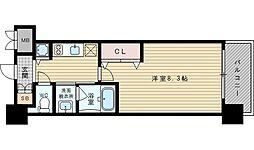 スプランディッド新大阪III[11階]の間取り