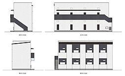 阪堺電気軌道阪堺線 寺地町駅 徒歩10分の賃貸アパート