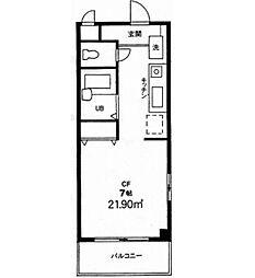 下井草ユーハイツ[205号室]の間取り