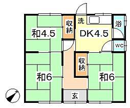 [一戸建] 岡山県倉敷市連島中央1丁目 の賃貸【/】の間取り