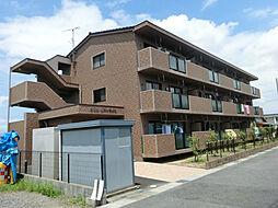 滋賀県栗東市川辺の賃貸マンションの外観