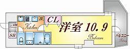 ワコーレヴィータ須磨行幸町[5階]の間取り