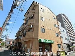 大阪府寝屋川市香里西之町の賃貸マンションの外観