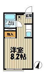 ドミール大船[2階]の間取り