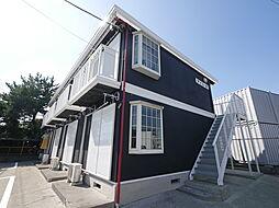 神奈川県厚木市妻田東2丁目の賃貸アパートの外観