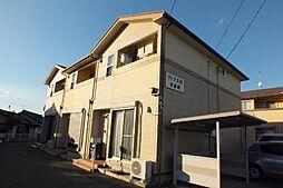 愛知県豊橋市大岩町字境目の賃貸アパートの外観