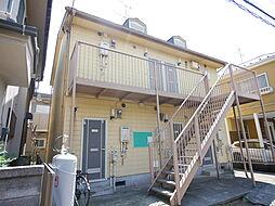 神奈川県座間市相武台4の賃貸アパートの外観