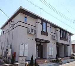 埼玉県東松山市あずま町1丁目の賃貸アパートの外観