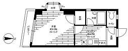徳山コーポ[102号室]の間取り