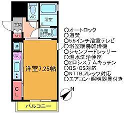 フォルス17[1階]の間取り