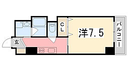 エクセル姫路[6階]の間取り
