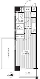 KJ新板橋[505号室]の間取り