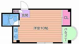 メゾンドール高殿[4階]の間取り