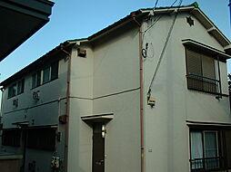 東京都練馬区貫井5丁目の賃貸アパートの外観