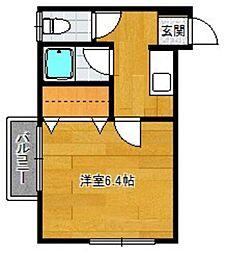 ピッコロハウス[2階]の間取り