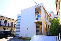 千葉県市川市新田2丁目の賃貸アパートの外観