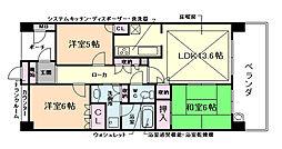 グランドメゾン西九条BIO[1階]の間取り