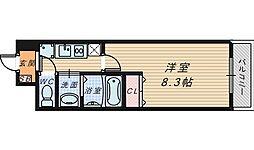 2ndK[3階]の間取り
