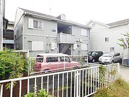 神奈川県海老名市大谷北2丁目の賃貸アパートの外観