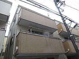 東京都大田区大森西4丁目の賃貸アパートの外観